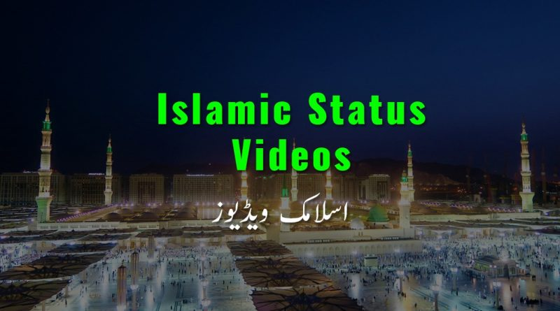 Latest Best Islamic Whatsapp Status video download